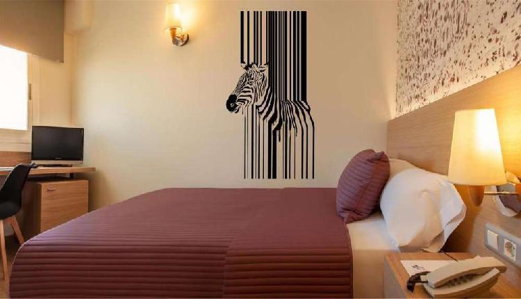 Vinilo decorativo zebra 1,20x60cm
