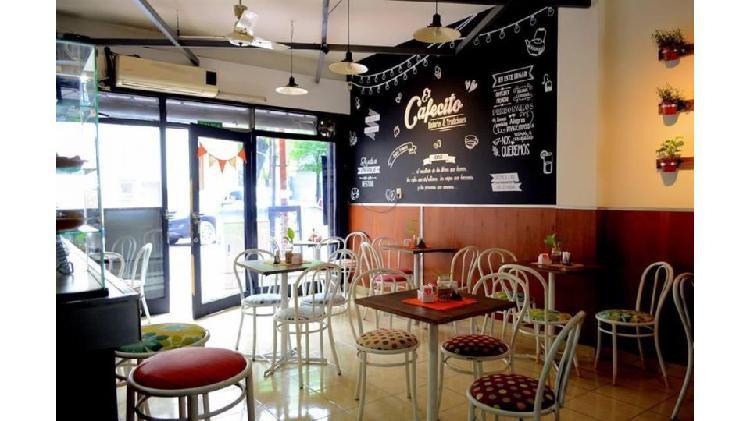 Café céntrico vendo fondo de comercio trabajando $