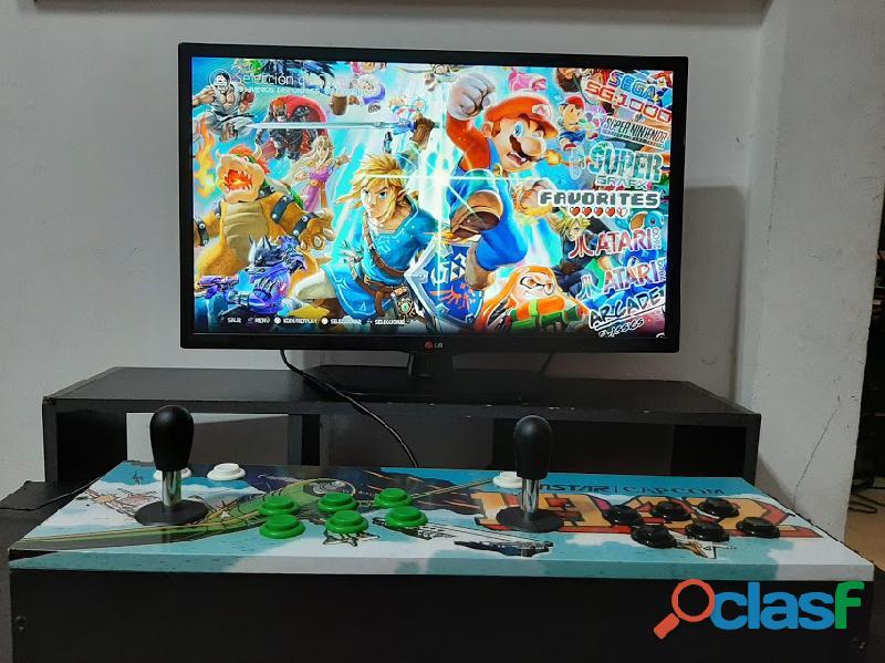 Alquiler de retro arcade 8000 juegos