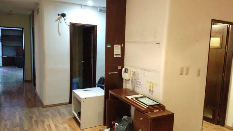 Alquiler comercial 7 oficinas en block + baño + kitchenette