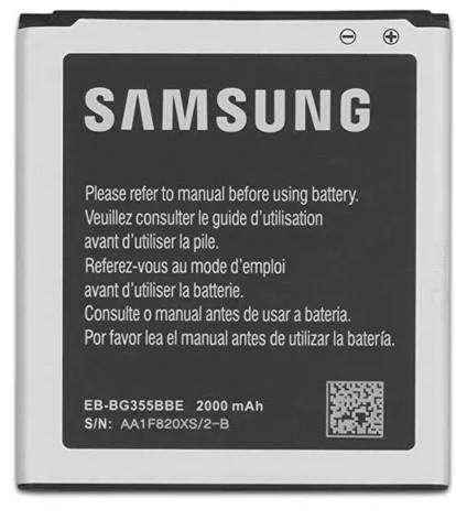Bateria samsung original eb-bg355bbe sm-g355 / sm-g355h