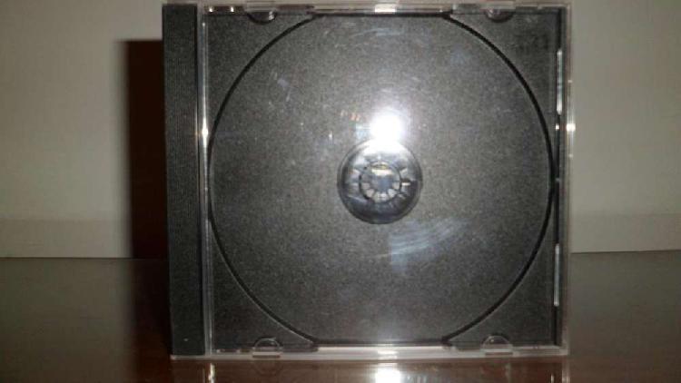 Cajas para cd tray negro