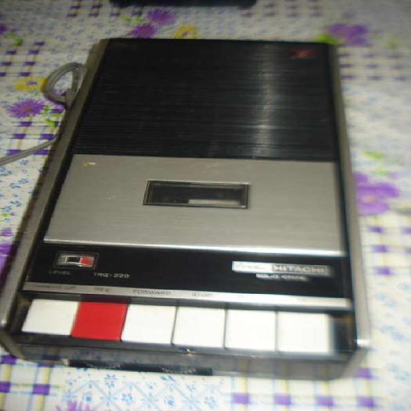 Grabador hitachi trq 220 vintage funciona reproduccion caset