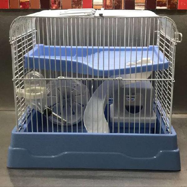 Hamstera chica con rueda tobogán accesorios