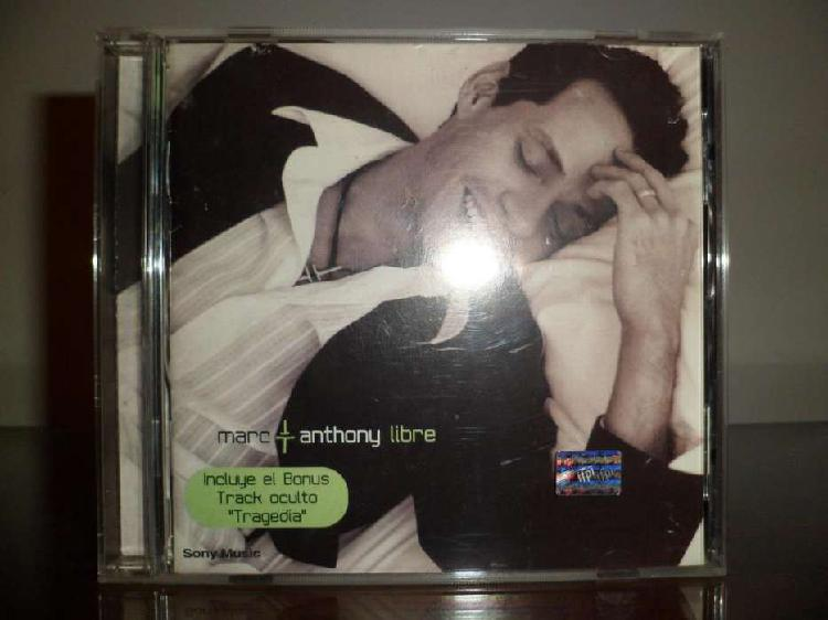 Marc anthony libre disco compacto original