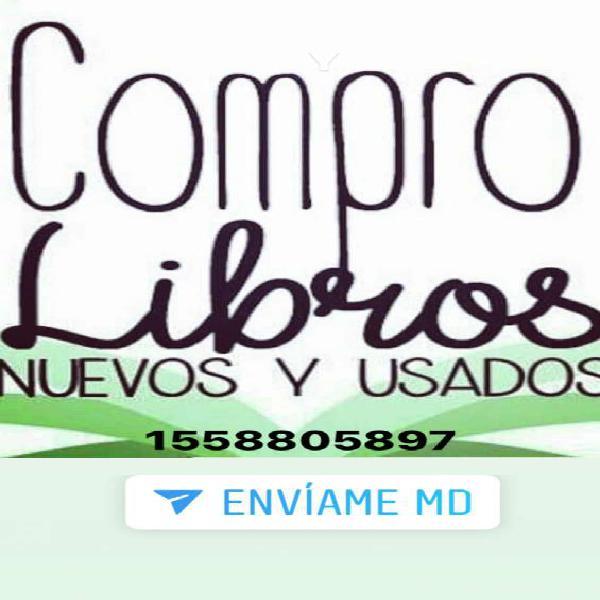 Compramos libros 1558805897 en Barrio Norte