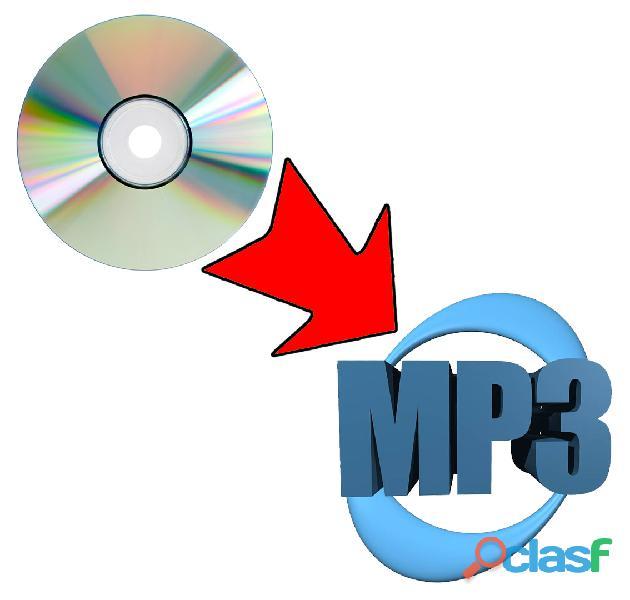 Cd de audio a mp3