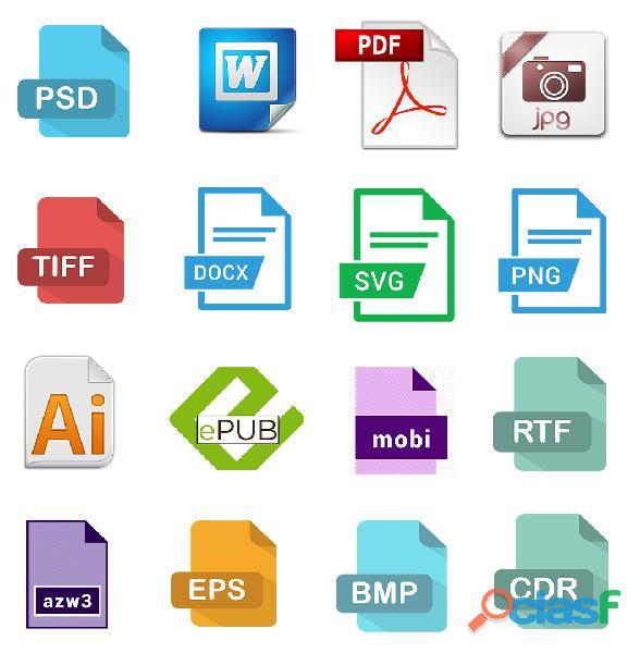 Conversión de archivos digitales