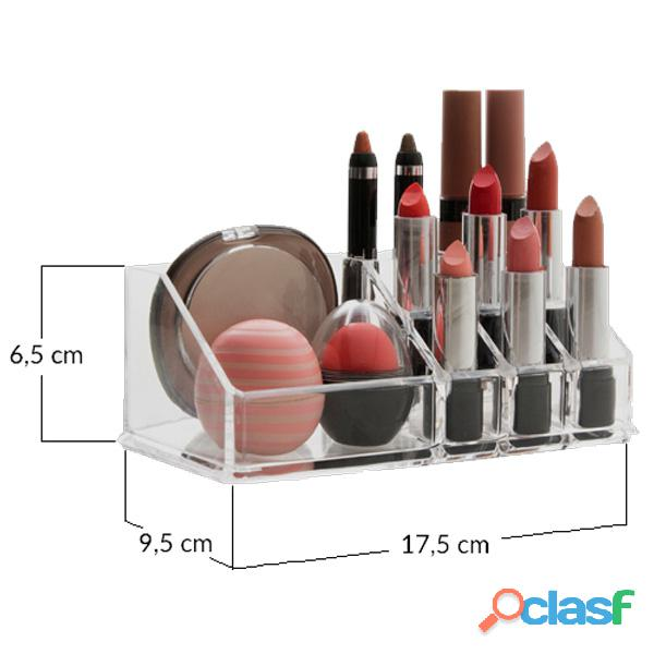 Organizador De Maquillaje Make Up Nro 2 Acrilico Colombraro 1
