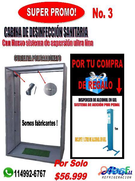 Dispenser sanitizador de manos a pedal 4