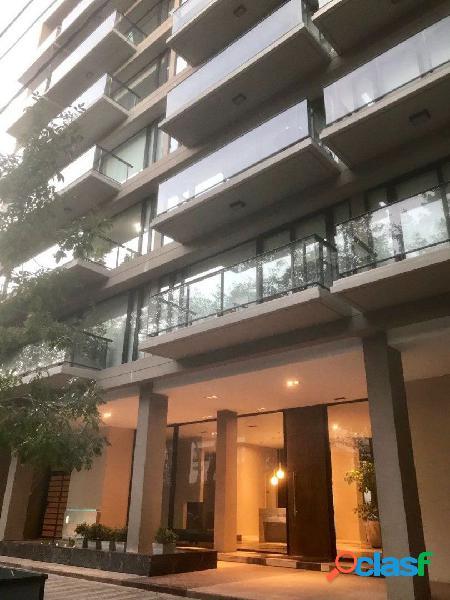 Guemes, edificio premium, departamento en duplex, 3 amb suite + escritorio, 2 cocheras, baulera, amenities, doble suite