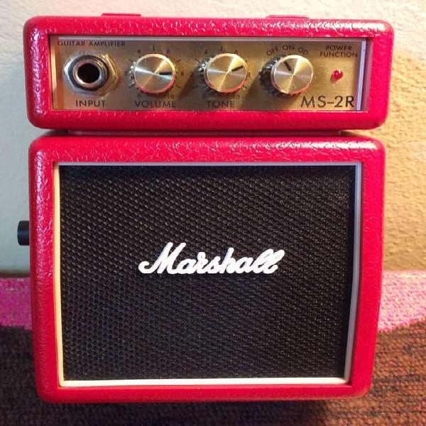 Amplificador marshall - ms-2r - para guitarra