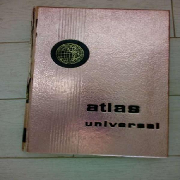 Atlas mundial antiguo, grande (promo, si llevas 3 cosas