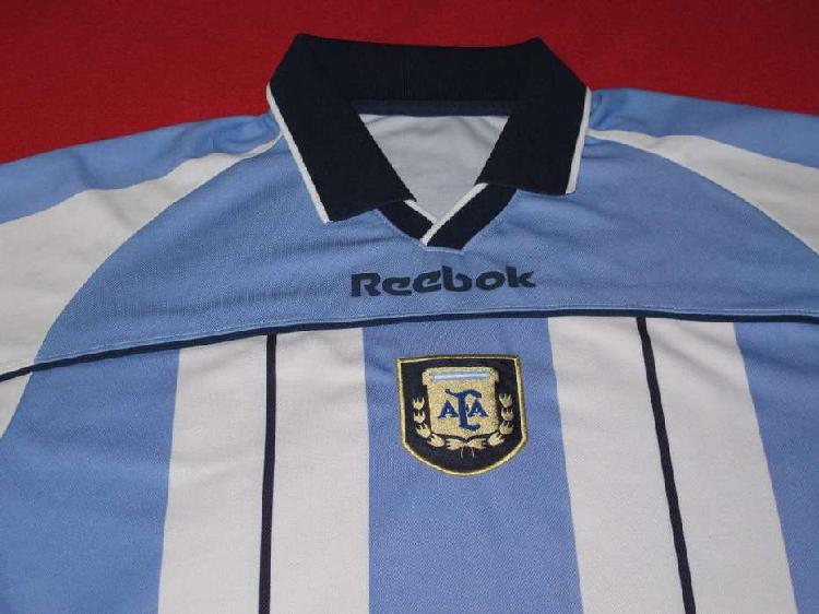 Camiseta afa seleccion argentina - reebok 2001