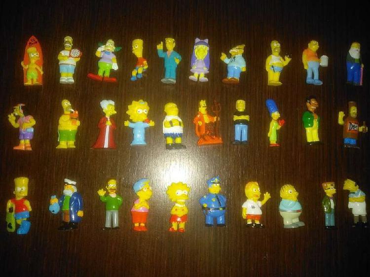 Colección figuras jack años '90 serie simpsons
