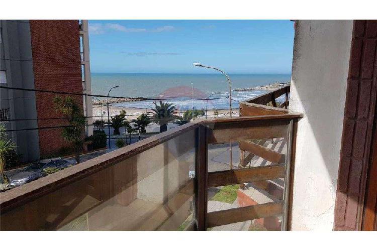 Departamento 3 amb balcón vista lateral mar varese