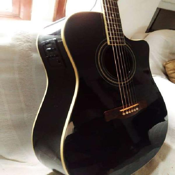 Guitarra electroacustica fender cd140sce bk fishman