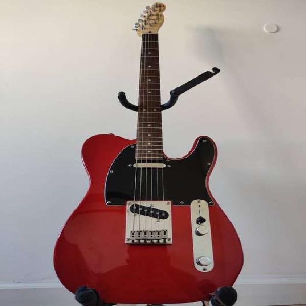 Guitarra squier telecaster standard indonesia + accesorios