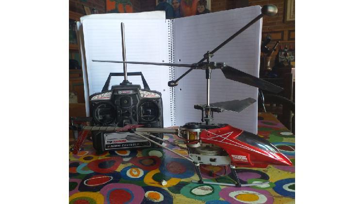 Helicoptero grande a control remoto (no funciona)