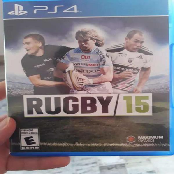 Juego original de ps4 rugby 15