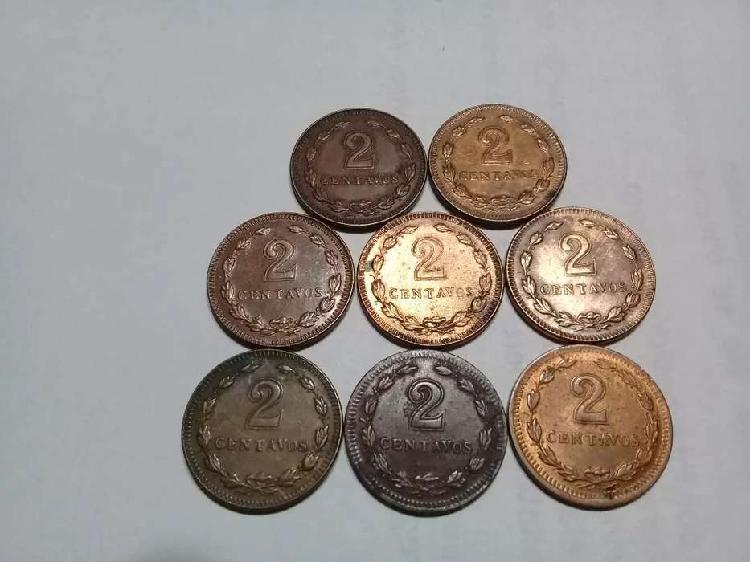 Monedas de argentina cobres chicos