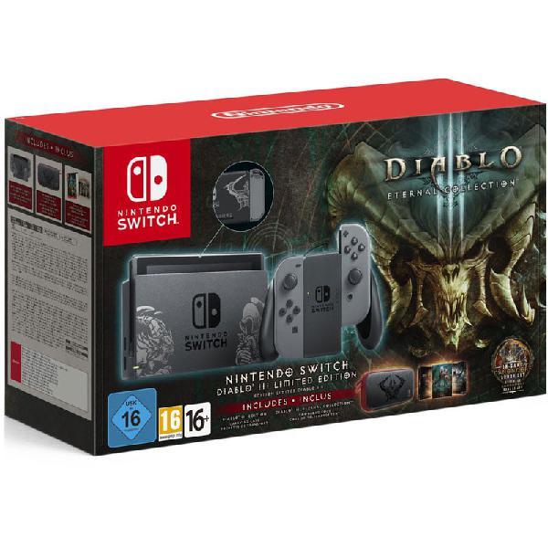 Nintendo switch edicion limitada diablo 3