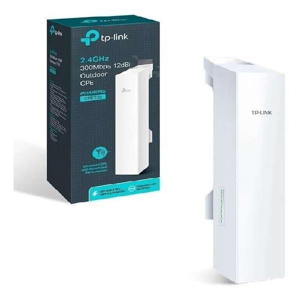 Wifi 2.0 tplink cpe220 2,4 ghz. 300mbps. nueva en caja