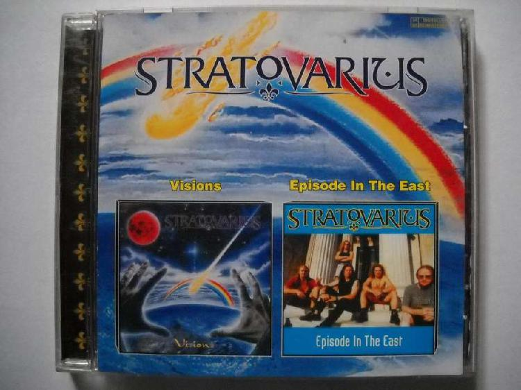 Stratovarius visions / episode in the east cd nuevo