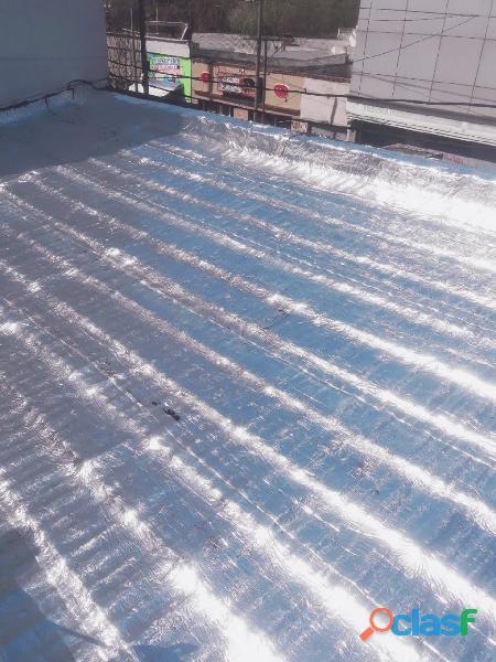 Venta y colocación de Membranas para todo tipo de techos