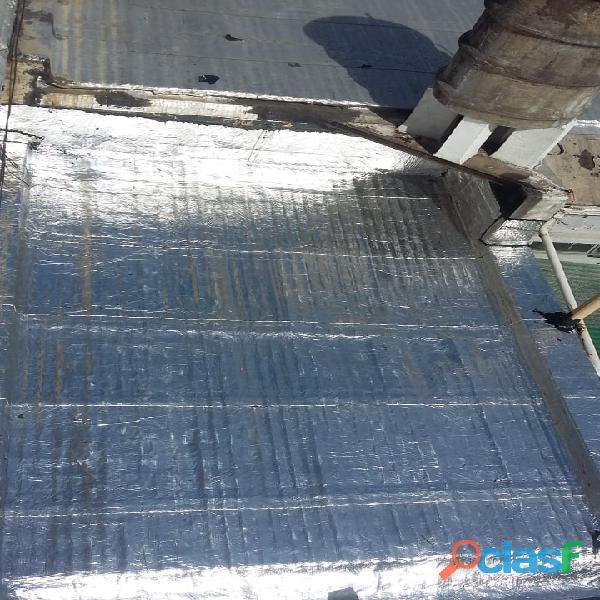 Venta y colocación de Membranas para todo tipo de techos 1