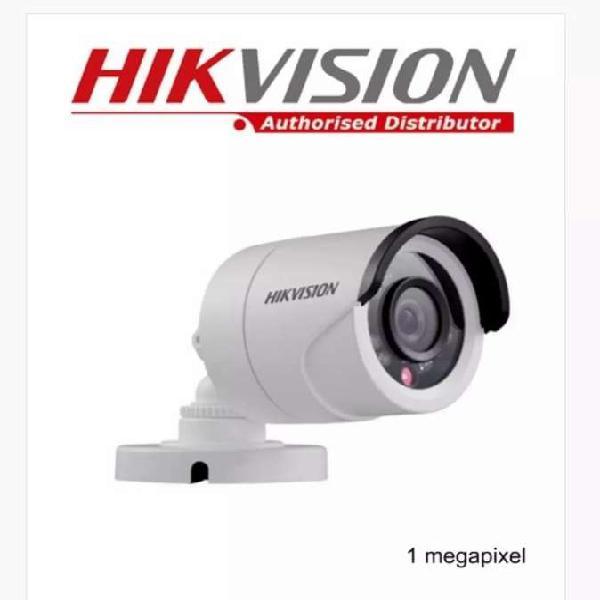 Camara de seguridad hd exterior hikvision bullet