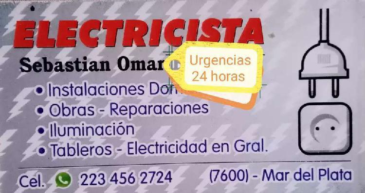 Electricista urgencias todos los días las 24 horas