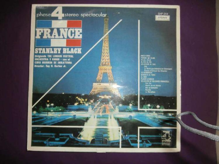 Stanley black: vinilo france-london odeón 1972