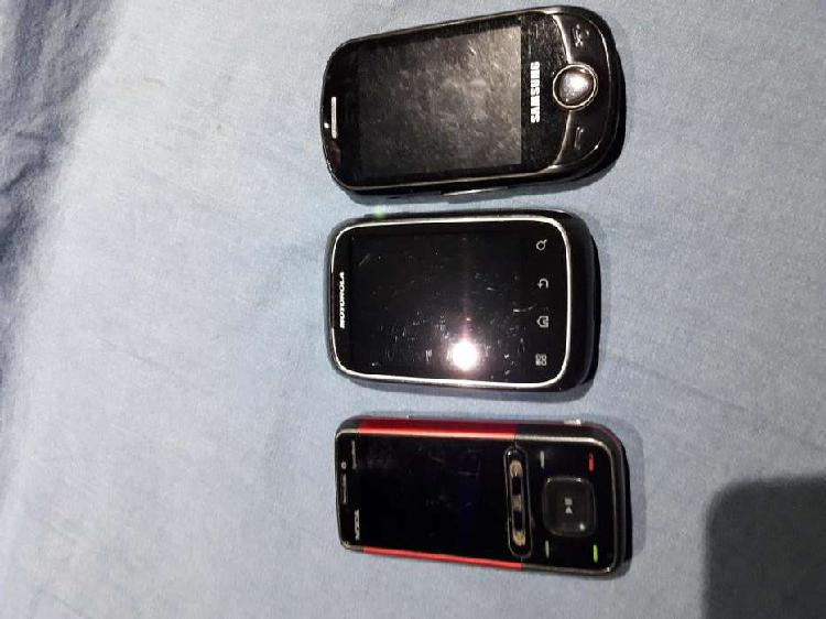 Telefonia celular movil lote