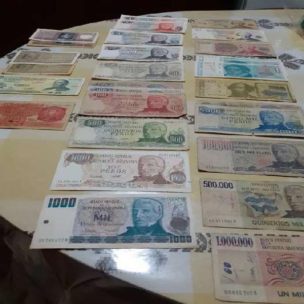 Billetes argentinos antiguos (leer descrip)
