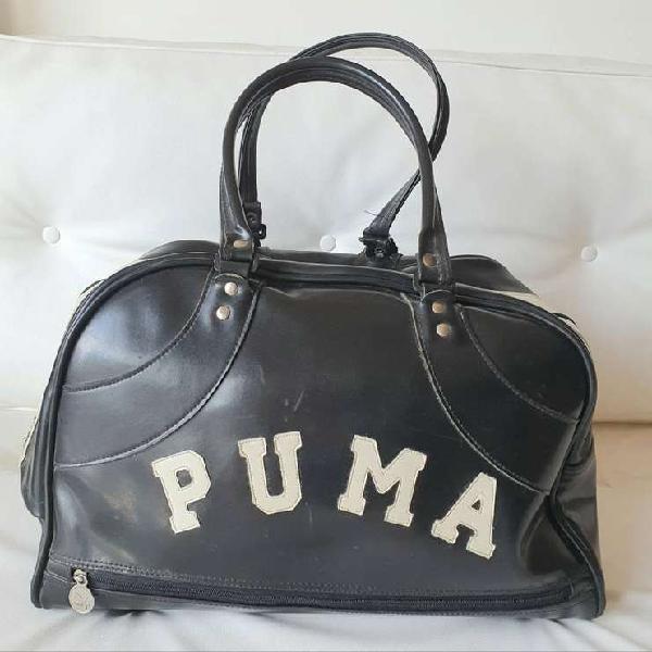 Bolso puma original importado retro vintage divino!gym-viaje