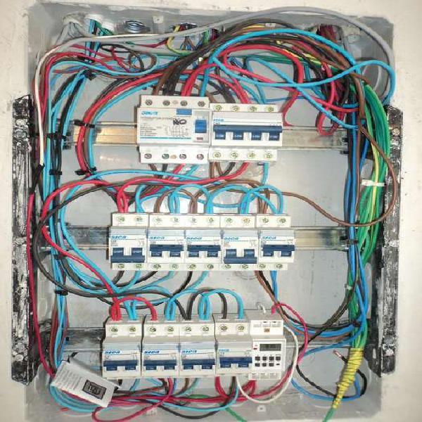 Electricista matriculado 24 hs