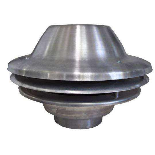 """Extractor parrillero/industrial 10"""" satelite alumino 1400rpm"""