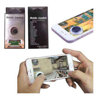 Mini joystick gamer para celular universal