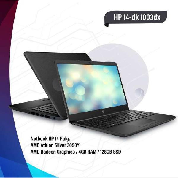 """Notebook hp 14-dk1003dx 14"""" hd"""