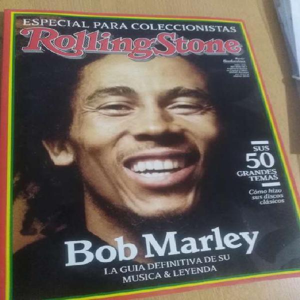 Revista rolling stone, especial marley