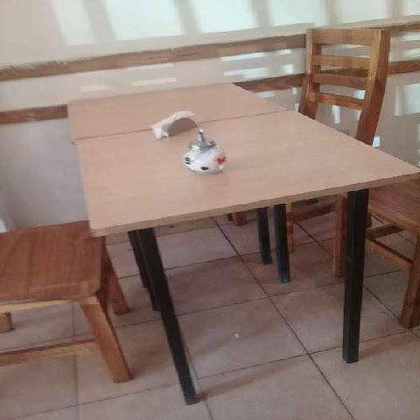 Mesas bar melamina