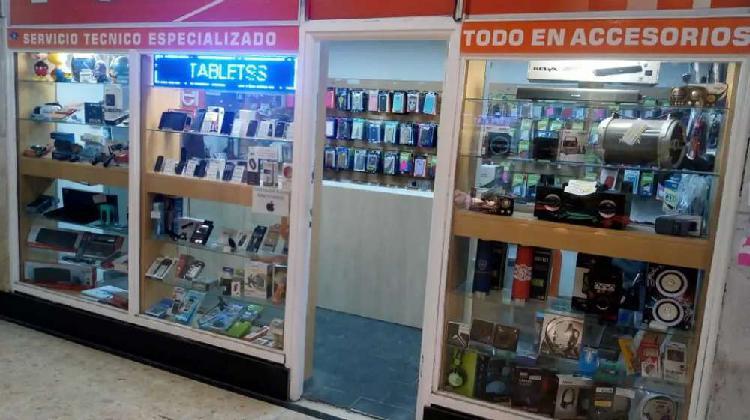 Vendo fondo de comercio de telefonia celular y accesorios