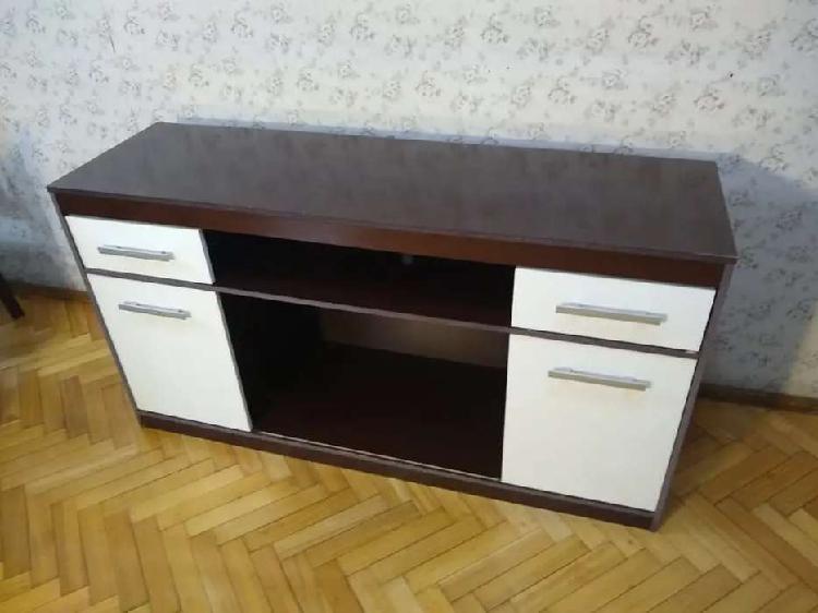 Mesa tv led / lcd mueble living comedor tipo rack 1,5m x0,45