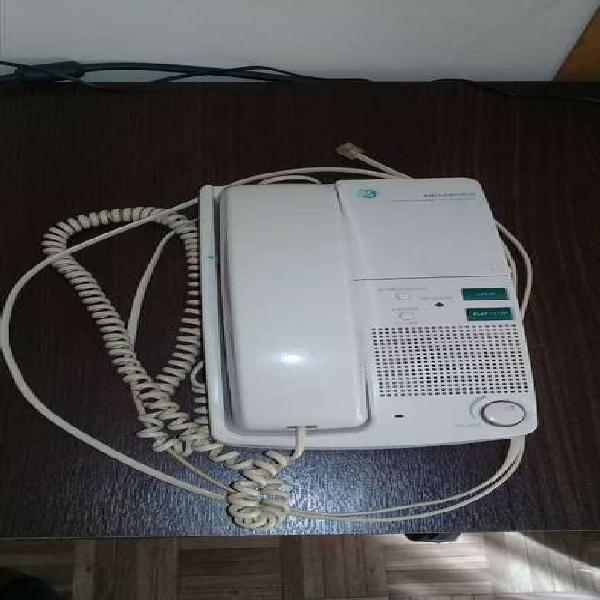 Telefono (vintage) general electric, con contestador