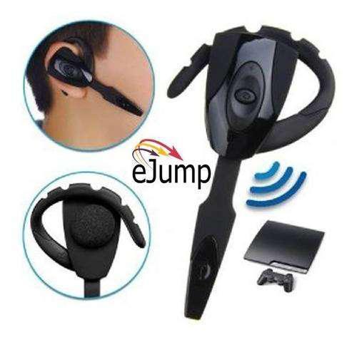 Auricular headset inalambrico microfono bluetooth ps3 pc cel