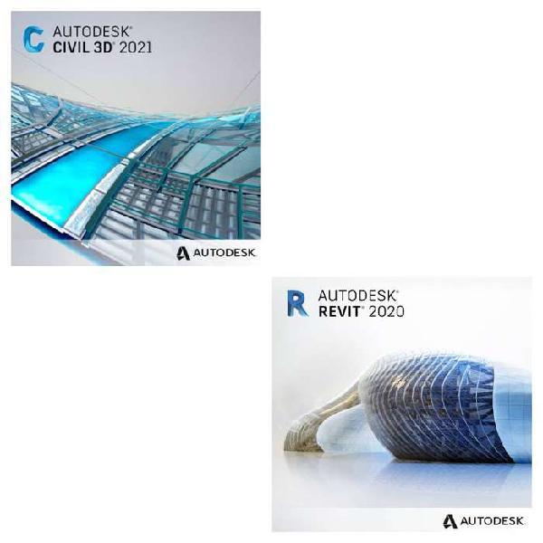 Autocad civil 3d + revit 2021 full