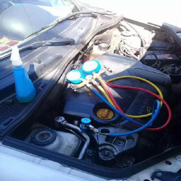 Carga de gas aire acondicionado automotor a domicilio