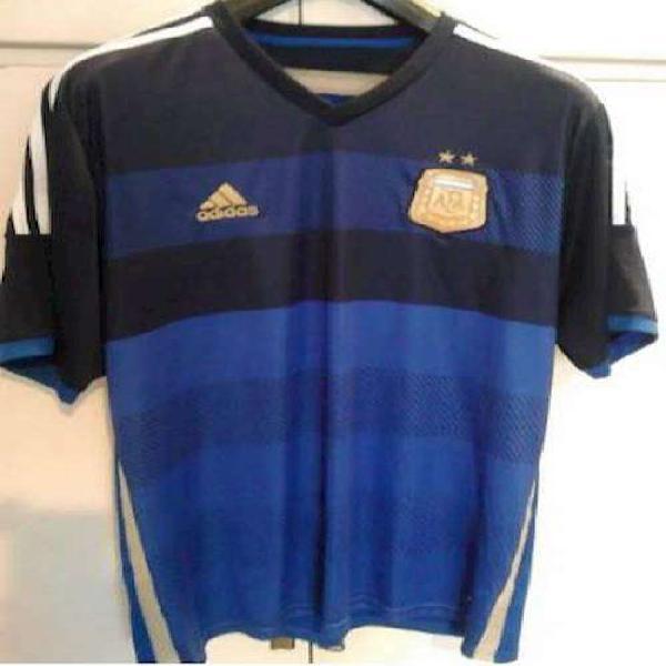 Camiseta oficial selección argentina brasil 2014 talle xl