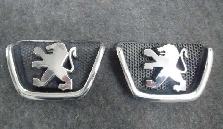 Peugeot 206 / escudo insignia emblema logo frente [original]